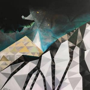 """Obraz akrylowy """"Gwiazdy"""" - Filip Warzecha"""