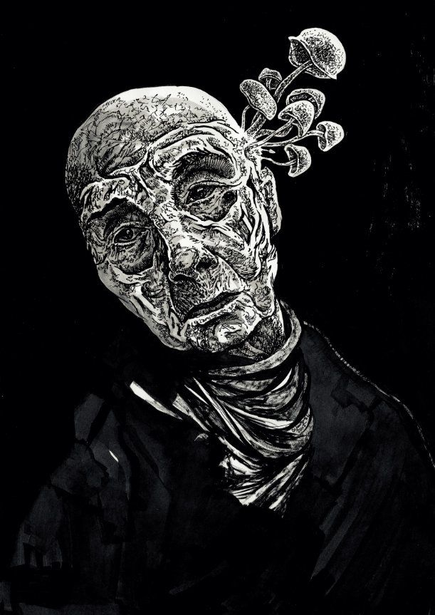 Portret halucynogenny - Krzysztof Schodkowski