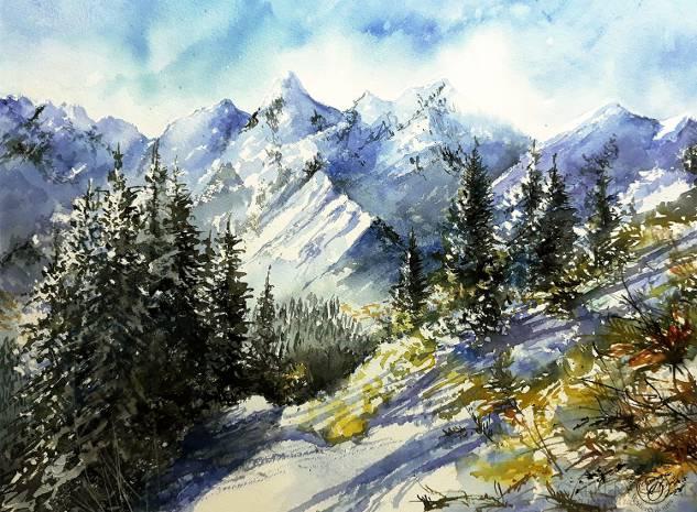 Tomasz Olszewski - Góry zimą