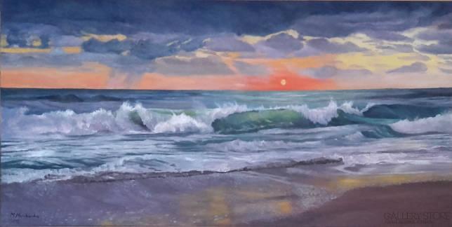 Zachód słońca - Marta Miszkurka