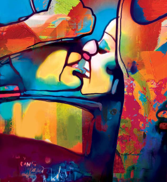 A kiss II - Piotr Gola