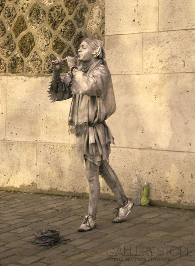 """Fotografia """"Czarodziej z Montmartre"""" Magdaleny Leszner-Skrzecz"""