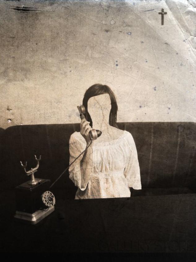 """Talat Darvinoğlu fotografia """"Telefonistka II (2)"""""""