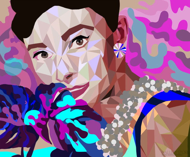 "Lola Rothschild ""Audrey and Monstera"""