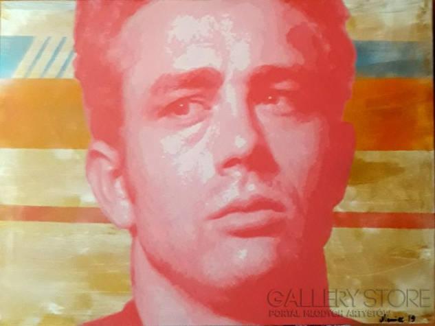 Dean Red Dean - obraz akrylowy na płótnie
