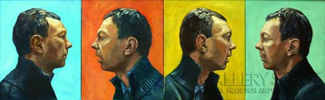 Andrzej Zujewicz - Autoportret wielokrotny