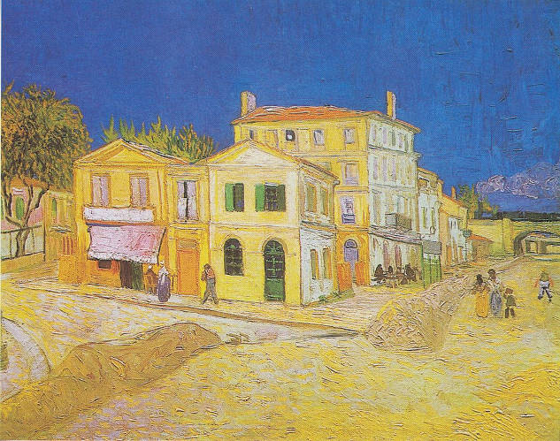 Vincent van Gogh - The Yellow House (The Street)
